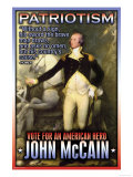 McCain, American Hero Posters