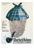 Sherlock Holmes et le Collier de la Mort Prints