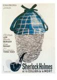 Sherlock Holmes et le Collier de la Mort Print