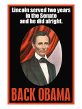 Back Obama Posters