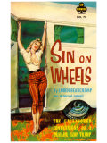 Sin On Wheels Affiches par Paul Rader