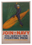 Join The Navy Prints by  Babcock