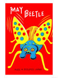 May Beetle Posters