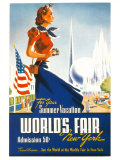 World's Fair New York Pósters por Robert Smith