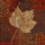Golden Fall II Poster by Daphne Brissonnet