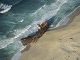 Shipwreck, Bahia de la Ventana, Baja Sur East Photographic Print