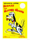 Herman the Hopper Hound Posters