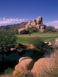 The Boulders Golf Course, Scottsdale, Arizona Photographic Print by Bill Bachmann