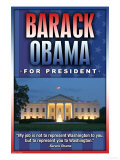 Barack Obama For President Posters