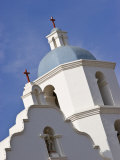 Mission at San Luis Rye, Oceanside, California Photographic Print by Nancy & Steve Ross