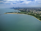 Lincoln Park, Chicago Lakefront, Illinois Photographic Print