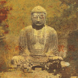Asian Buddha Poster