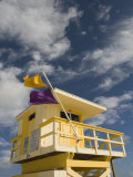 Lifeguard Tower, South Beach, Miami, Florida Photographic Print by Walter Bibikow