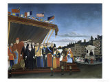 Delivery of Due Reward Giclee Print by Henri Rousseau