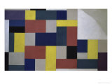 Composition, c.1920 Giclee Print by Theo Van Doesburg
