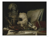 Attributes of Arts, c.1769 Giclee Print by Anne Vallayer-coster