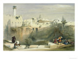 The Pool of Bethesda Giclee Print by David Roberts