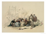 Conference of Arabs Premium Giclee Print by David Roberts