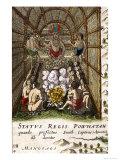 Powhatan Inset Giclee Print by Joan Blaeu