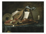 Attributes of Music, c.1770 Giclee Print by Anne Vallayer-coster