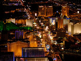 Scenic Aerial From Blimp, Las Vegas, Nevada Photographic Print by Lindsay Hebberd