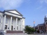 City Hall and Thalian Hall Performing Arts Center, Wilmington, North Carolina Photographic Print by Lynn Seldon