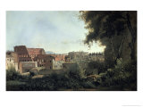 Le Colisee Vue Prise Des Jardins Farneses Giclee Print by Jean-Baptiste-Camille Corot