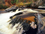 Big Falls, Eau Claire River, Wisconsin Stampa fotografica di Chuck Haney