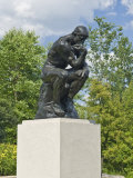 The Thinker, Frederik Meijer Gardens, Grand Rapids, Michigan Photographic Print by Keith & Rebecca Snell