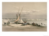 General View of Tyre Giclee Print by David Roberts