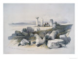 Ruins Called Om El Hamed Near Tyre Giclee Print by David Roberts