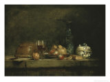 Jar of Olives Giclee Print by Jean-Baptiste Simeon Chardin