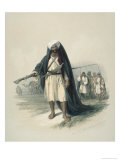 Arabs of the Desert Giclee Print by David Roberts
