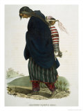Chippeway Squaw and Child Giclee Print by Thomas Loraine Mckenney
