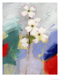 Dogwood Giclee Print by Peggy Brown