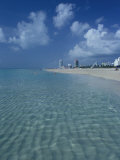 South Beach, Miami, Florida Photographic Print by Julie Bendlin