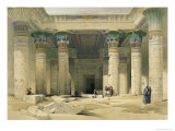 Grand Portico of the Temple of Philae, Nubia Giclee Print by David Roberts