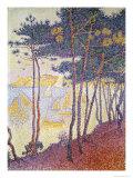 Sailboats Giclee Print by Paul Signac