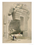 The Doorway, Baalec Giclee Print by David Roberts