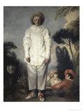Le Gilles Giclee Print by Jean Antoine Watteau