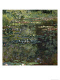 Etang Aux Nympheas, Pond with Water Lillies Giclee Print by Claude Monet