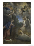 The Annunciation Giclee Print by Agostino Carracci