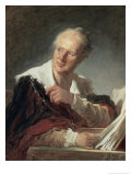 Portrait of Diderot, c.1769 Reproduction procédé giclée par Jean-Honoré Fragonard