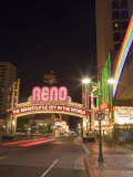 Downtown, Reno, Nevada Photographic Print by Chuck Haney