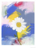 Big Daisy Giclee Print by Peggy Brown
