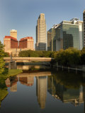 Skyline of Downtown, Omaha, Nebraska Photographic Print by Gayle Harper