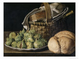 Still Life with Figs, 18th century Giclee Print by Luis Egidio Melendez