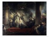 The High Priest Coresus Sacrifices Himself to Save Callirhoe Giclee Print by Jean-Honoré Fragonard