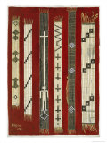 Iroquois Wampum Belts Giclee Print by Grider Rufus