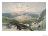 View of Sunset, Cana Premium Giclee Print by David Roberts